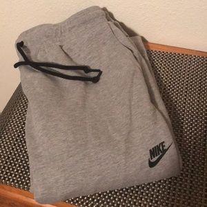 Men's large grey Nike sweats joggers